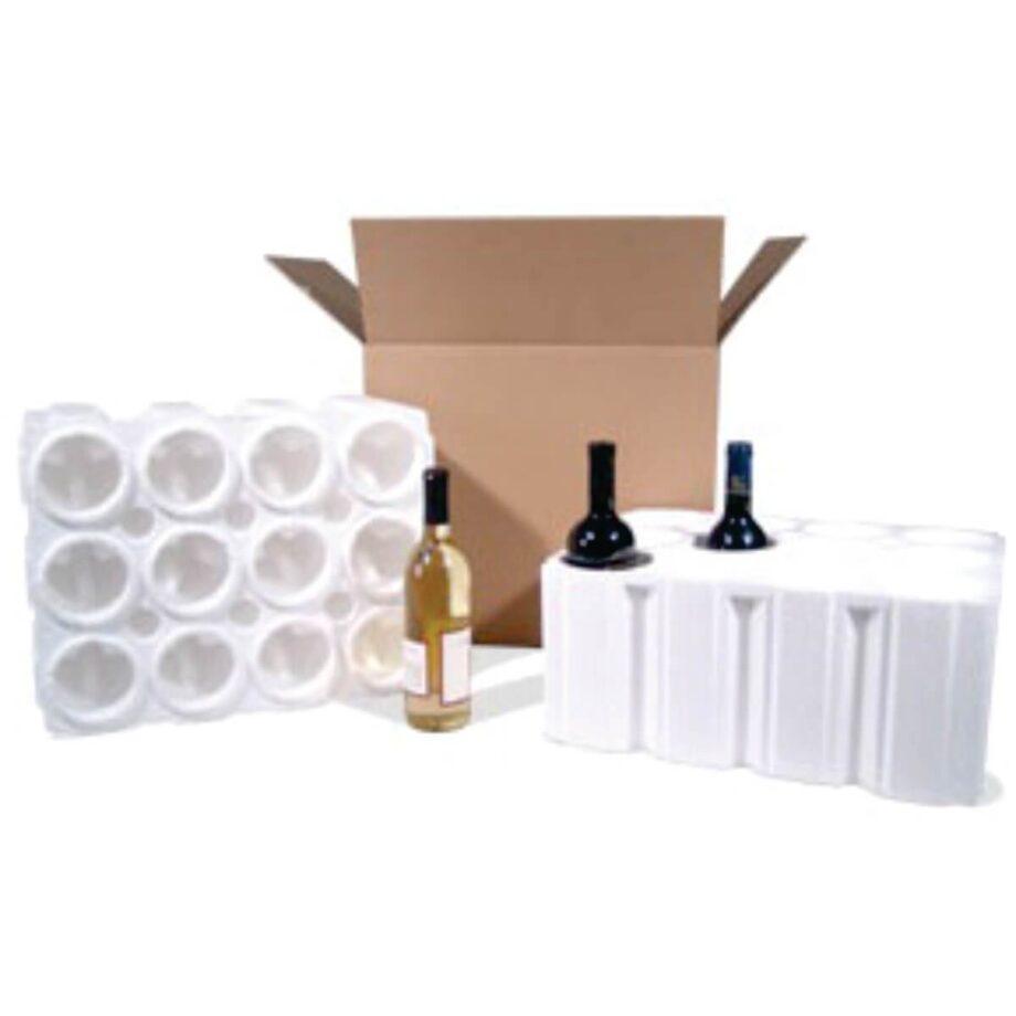 12 Bottle Foam Shipper