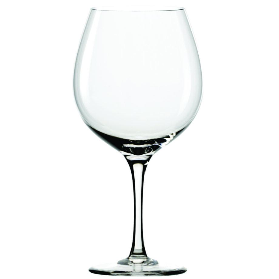 Universal Burgundy Glass