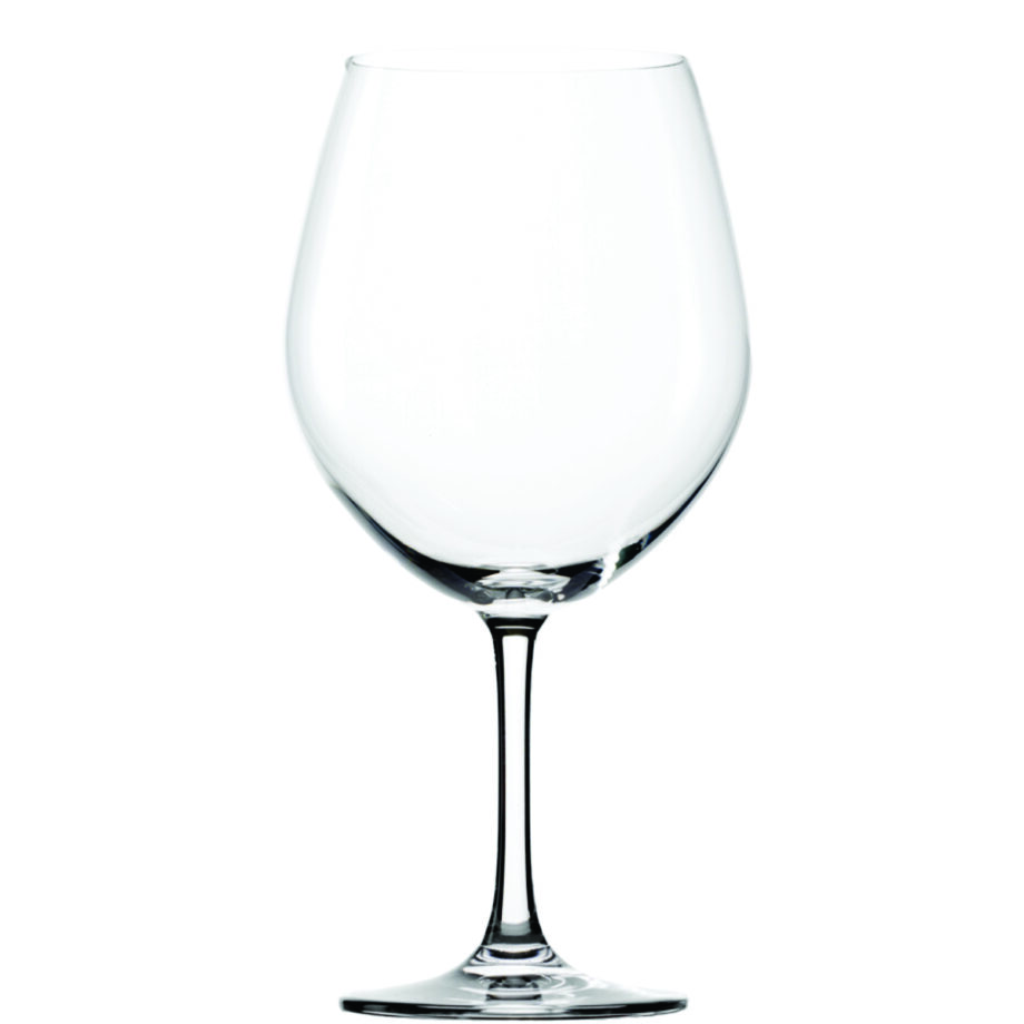 Classic Burgundy Glass
