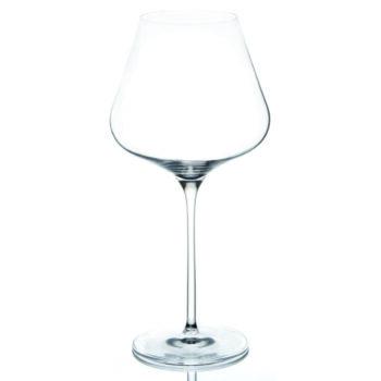 Quatrophil Burgundy Glass
