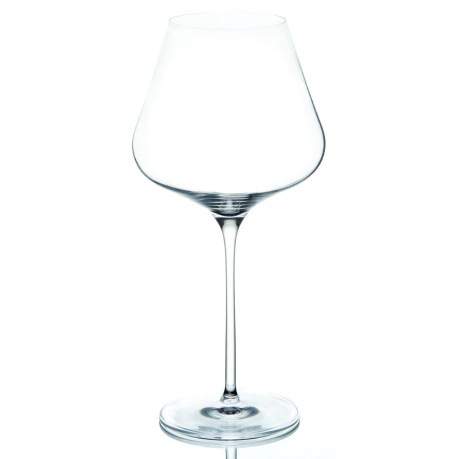 Quatrophil Burgundy Glass