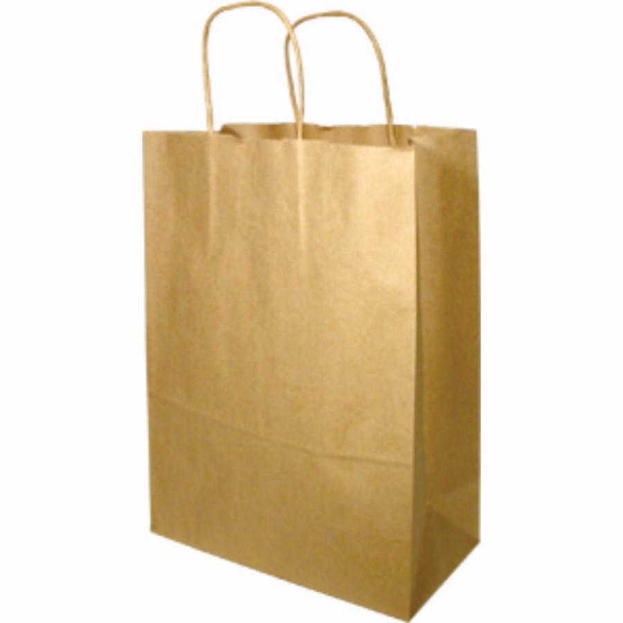 PAPER HANDLE BAG-MISSY-KRAFT