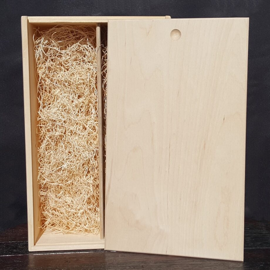 2 Bottle Wine Crate – 3/8″ Wood