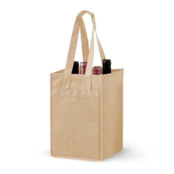 4Bottle-Non-Woven-Wine-Bag_Tan