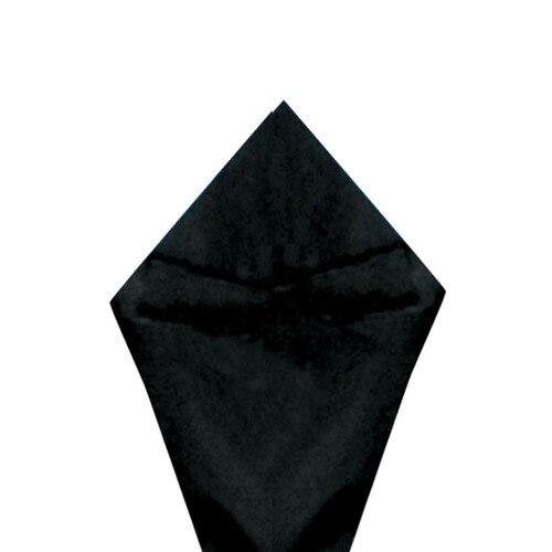 SATIN WRAP TISSUE - BLACK