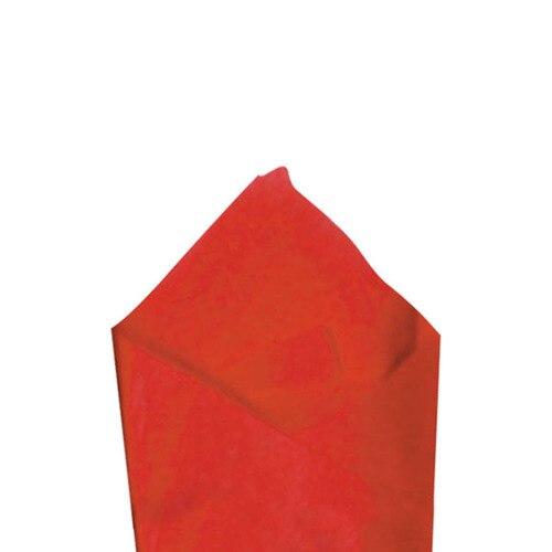 SATIN WRAP TISSUE - CHERRY RED