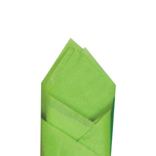 SATIN WRAP TISSUE - CITRUS GREEN