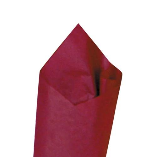 SATIN WRAP TISSUE - CLARET