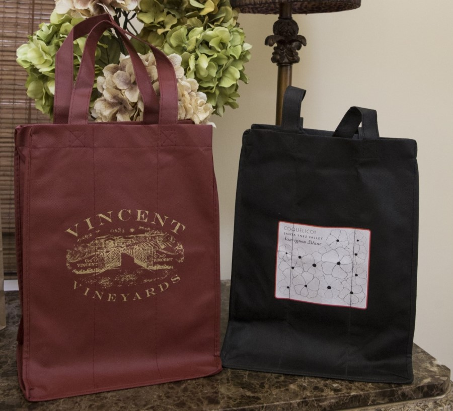 Examples of Printed Wine Bags