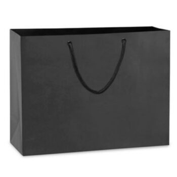 Paper Euro Bag Mister Black Gloss