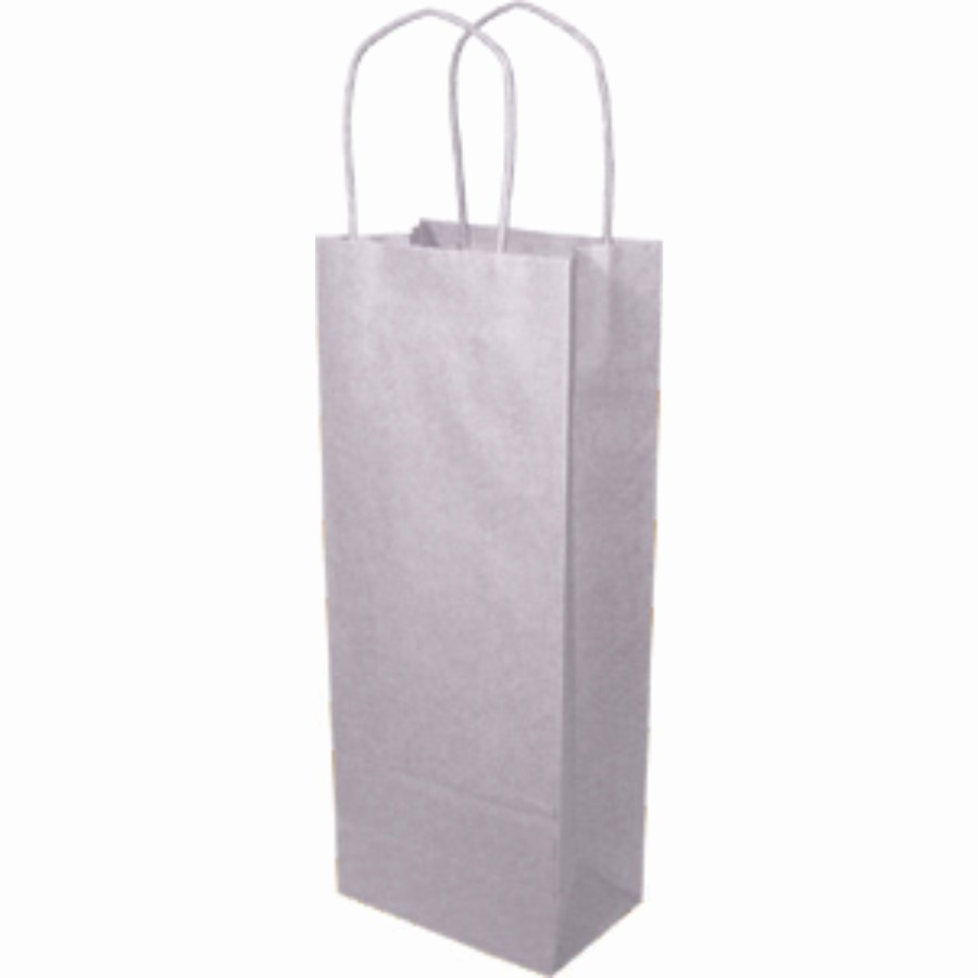 Paper Handle Bags (Vino) - White