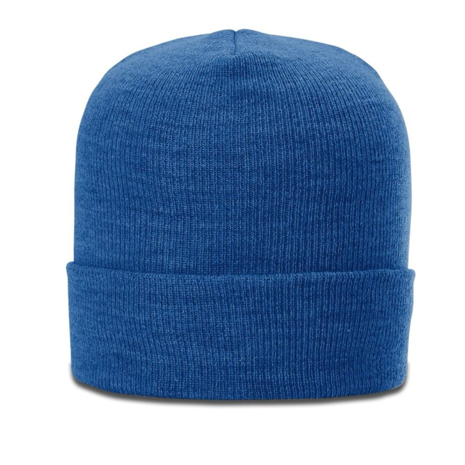 137 Heathered Beanie with Cuff Royal