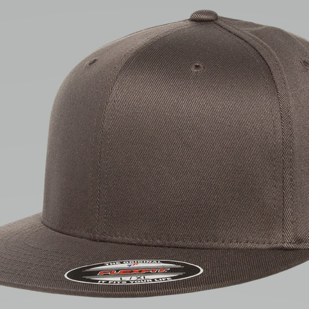 6297F Flexfit Pro-Baseball On-Field Cap Dark Grey