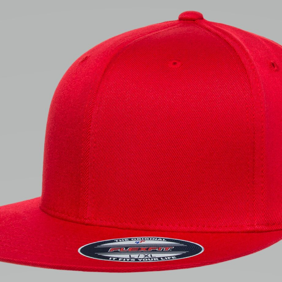 6297F Flexfit Pro-Baseball On-Field Cap Red