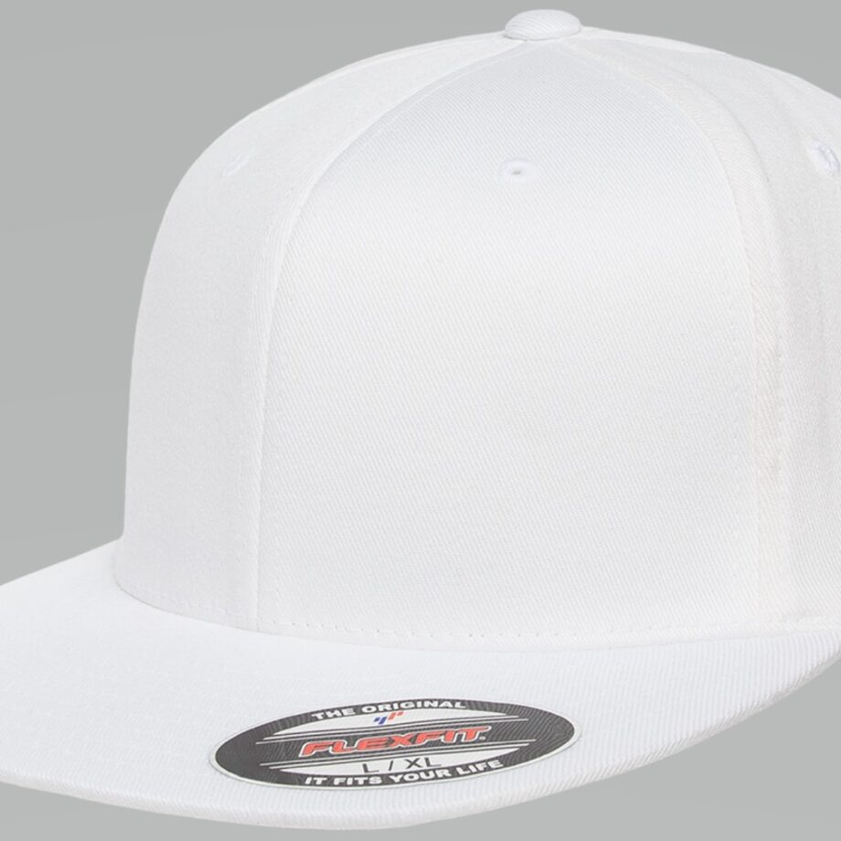 6297F Flexfit Pro-Baseball On-Field Cap White