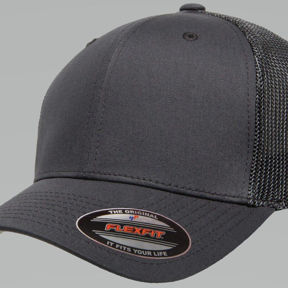 6511 Retro Trucker Charcoal Cap