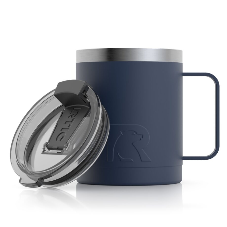 navy 12oz cup