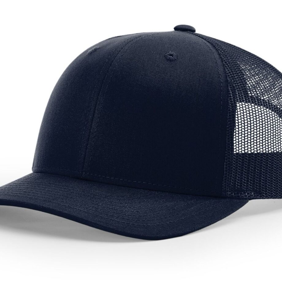 R112 Richardson Trucker Cap Navy