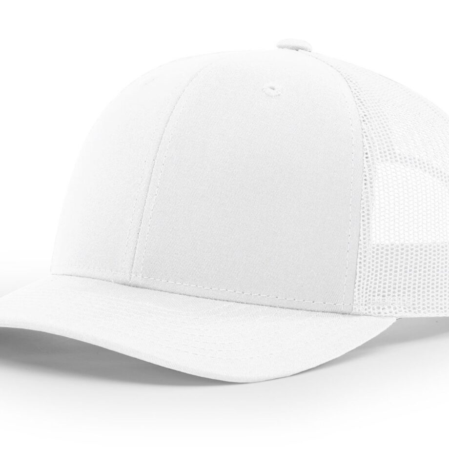R112 Richardson Trucker Cap White