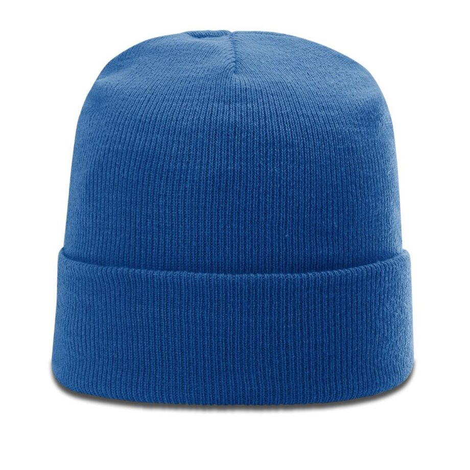 R18 Solid Knit Beanie with Cuff Royal
