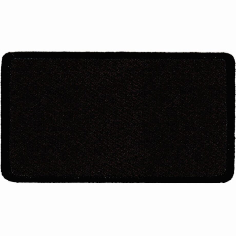 "Rectangular-Patch-2-1/2""x4-1/2""-Black-with-Black"