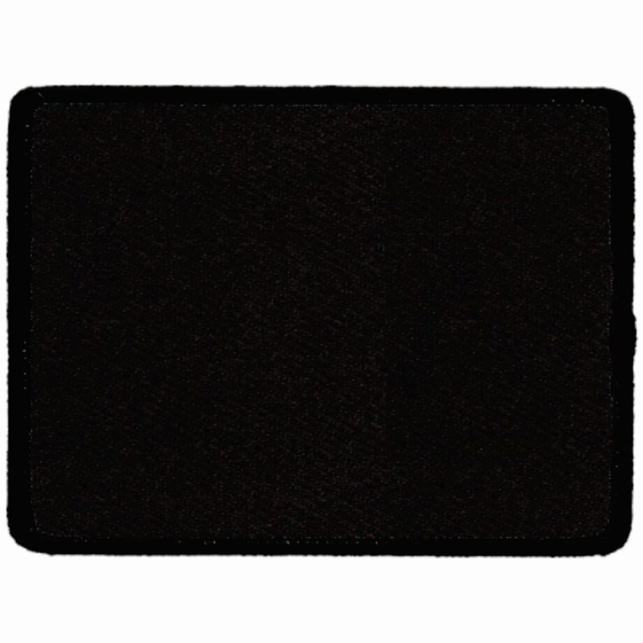 "Rectangular-Patch-3""x4""-Black-with-Black"