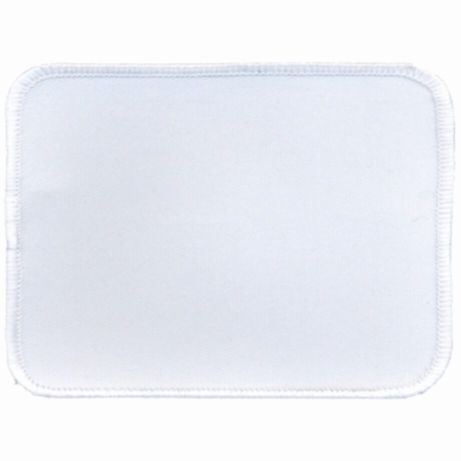 "Rectangular-Patch-3""x4""-White-with-White"