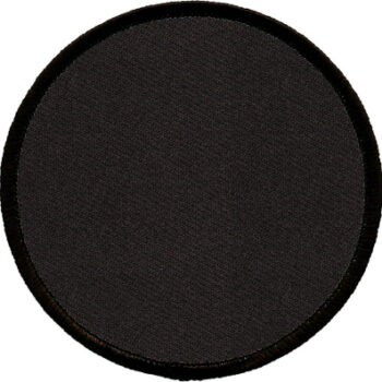 "Circle-Patch-3-1/2""-Black-with-Black"