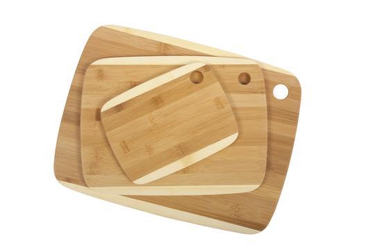 Core 2 tone bamboo cutting boards