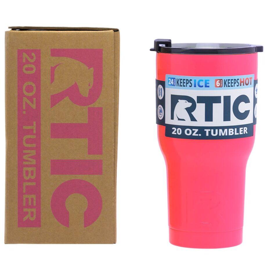 RTIC 20oz Tumbler - PINK