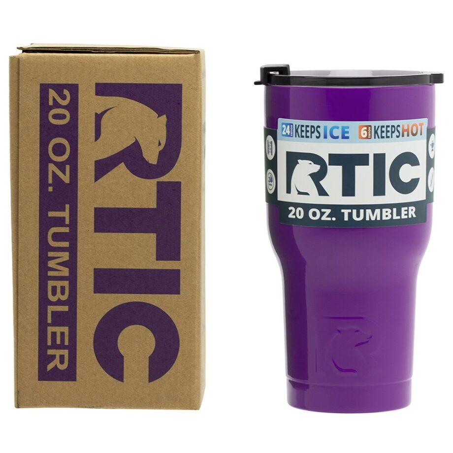 RTIC 20oz Tumbler - PURPLE