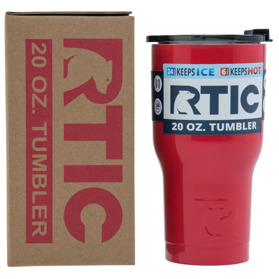 RTIC 20oz Tumbler - RED