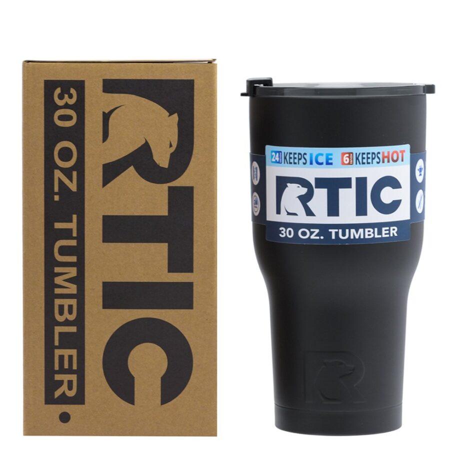 RTIC 30oz Tumbler - BLACK