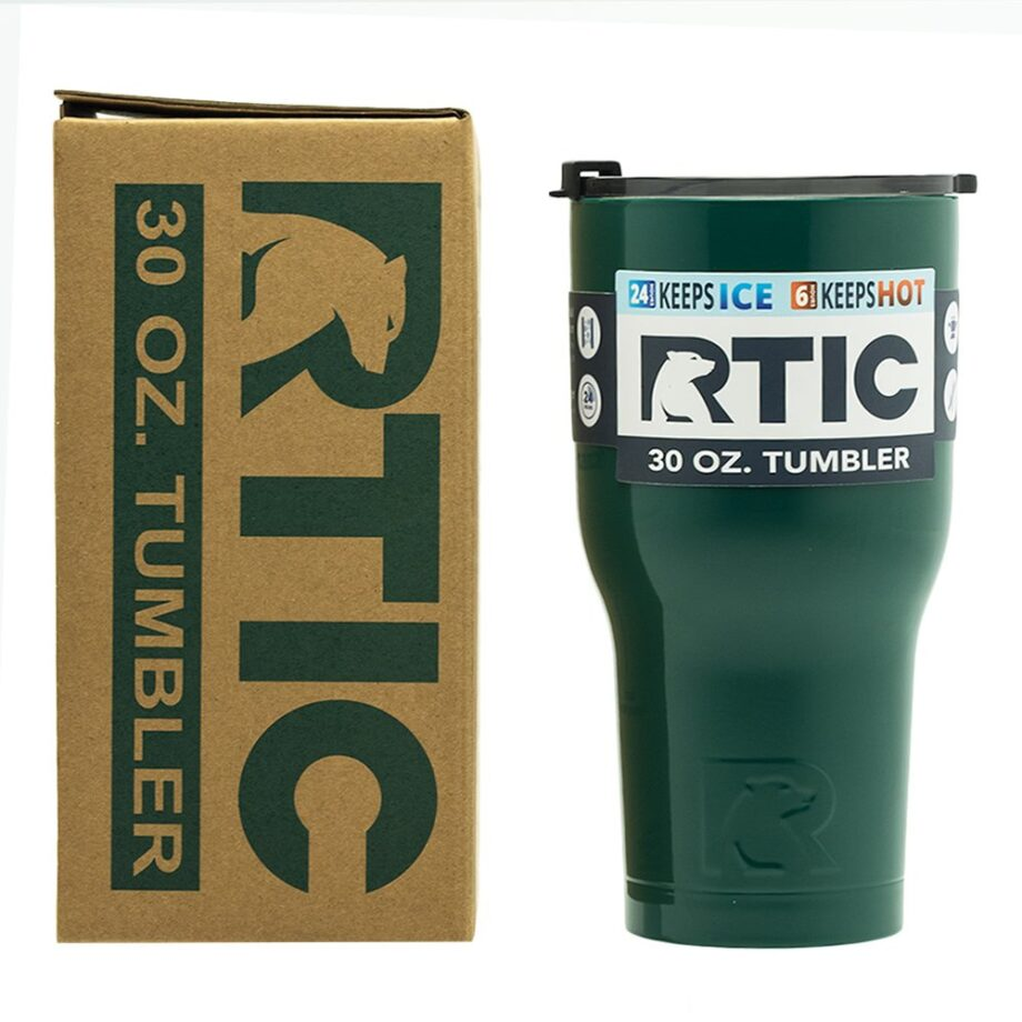 RTIC 30oz Tumbler - FOREST GREEN