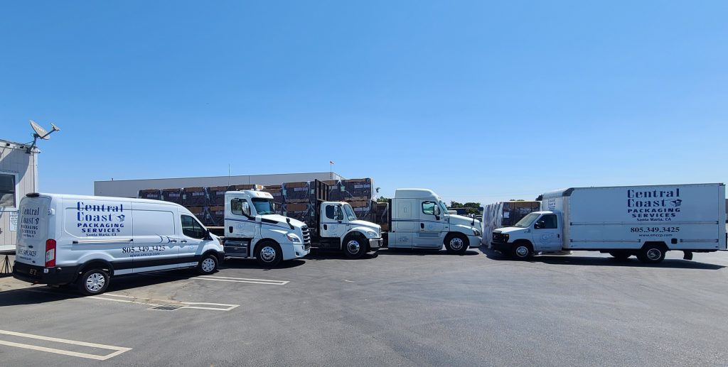 trucks shipping